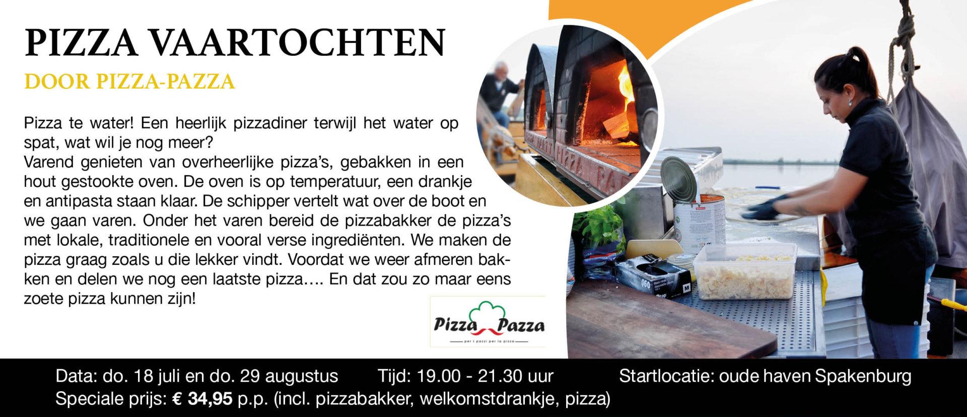 Pizza Vaartochten
