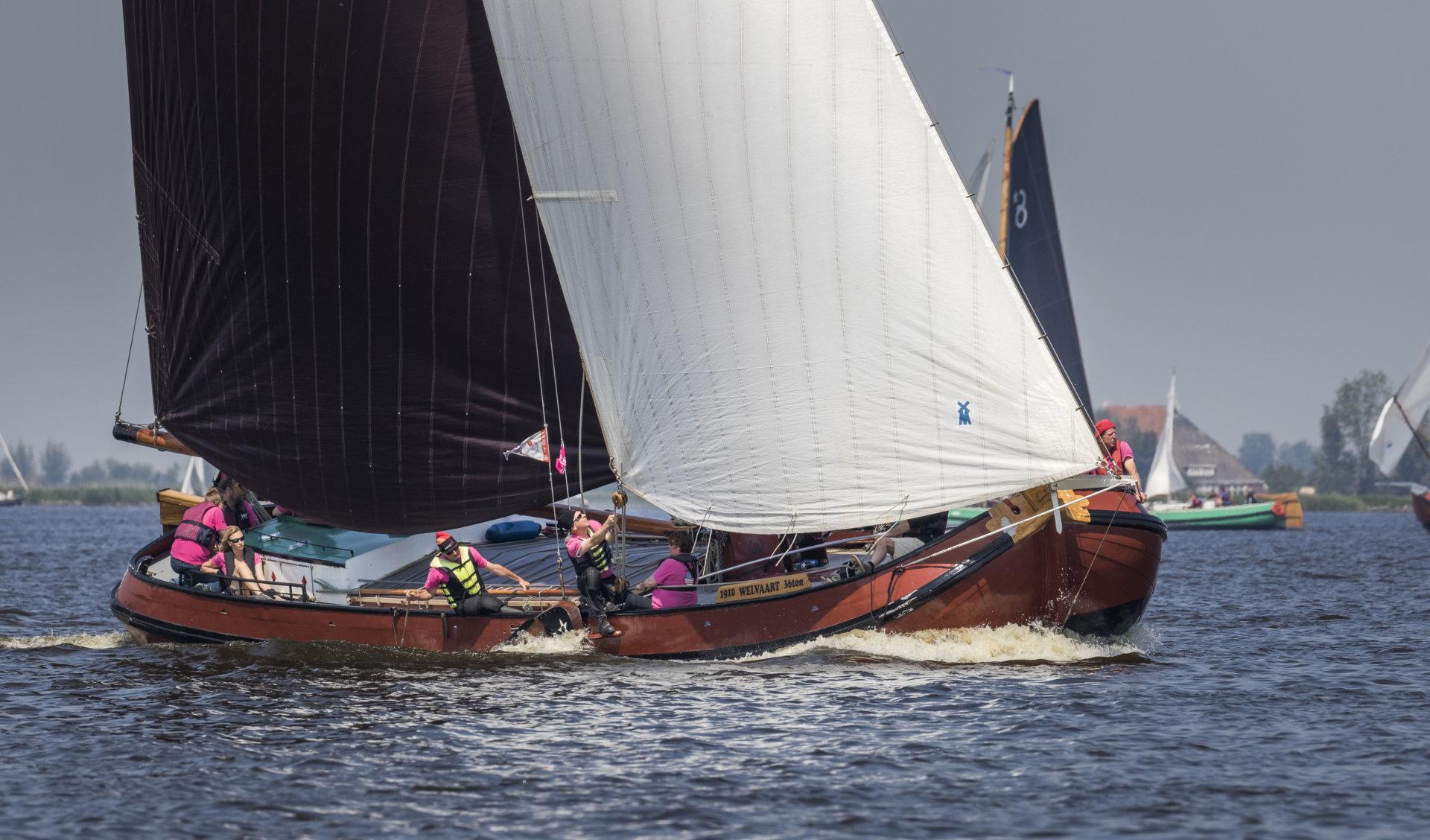 Origineel Skûtsje Voor Eemdijk